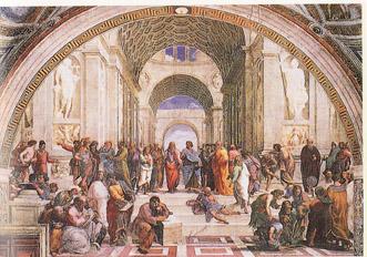 ラファエロ アテネの学堂
